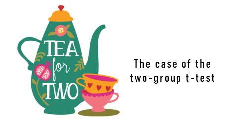 Tea for 2: The Case of the Two-Group t-Test