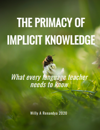 The Primacy of Implicit Knowledge: What every language teacher needs to know
