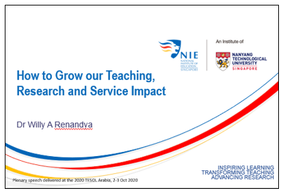 How to grow our teaching, research and service impact