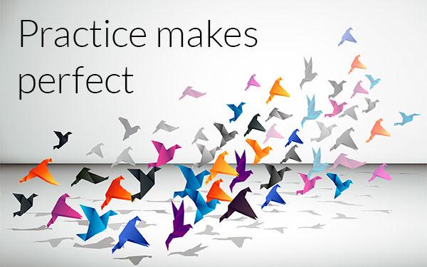 Practice Makes Perfect?