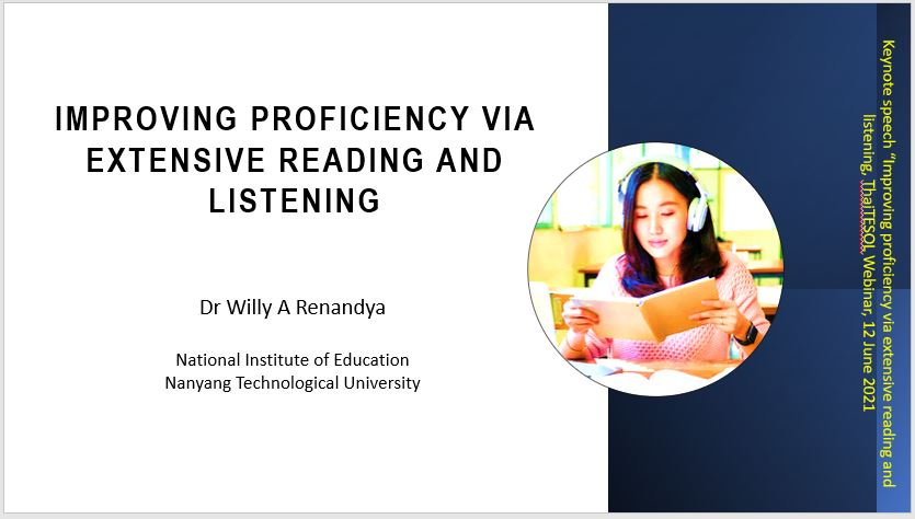Improving Proficiency Via Extensive Reading and Listening