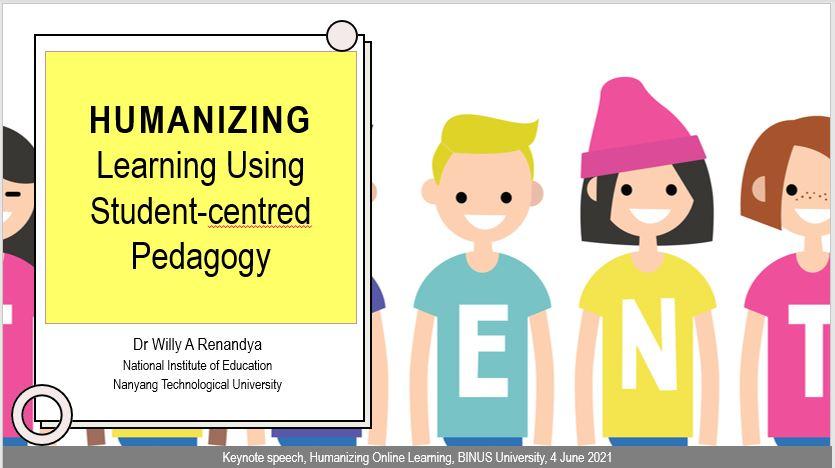 Humanizing Learning Using Student-Centred Pedagogy