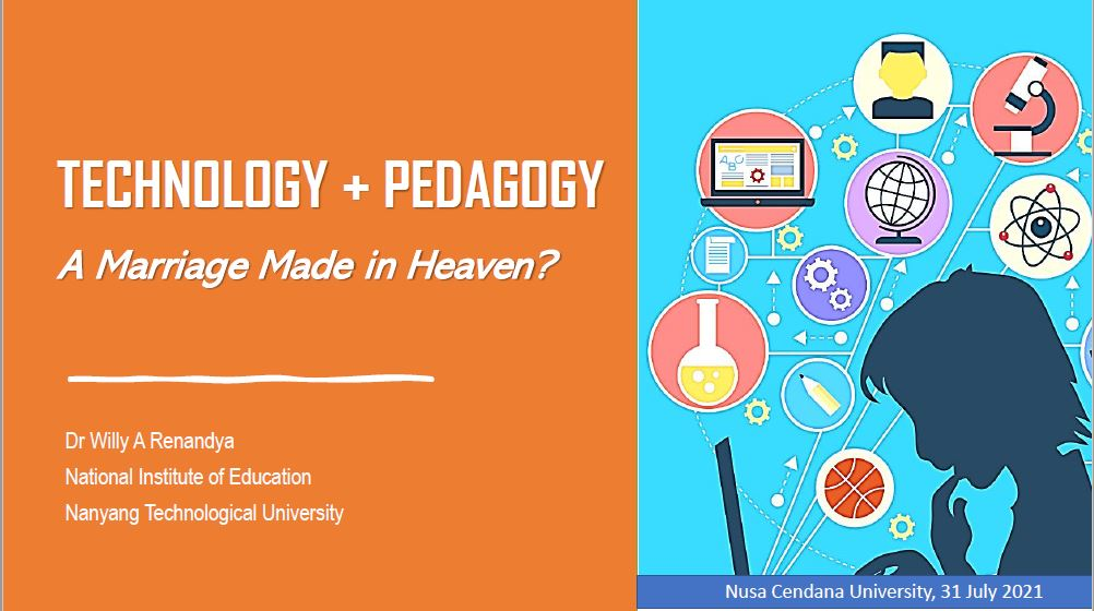 Technology & Pedagogy: A Marriage Made in Heaven?